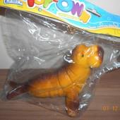 Большая резиновая игрушка, пищалка, 2 вида