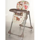 Детский стульчик для кормления Bambi M 3234-2,коричневыйй