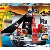 Конструктор Ecoiffier Пиратское судно с людьми (003130)