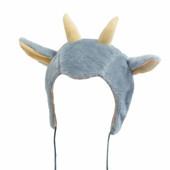 Карнавальный костюм козочки, козленка детская шапочка и маскарадный жилет