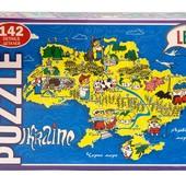Пазлы Украина, 142 дет.