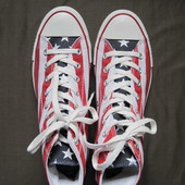 Converse All Star Stars & Bars Hi (42, 27 см) кеды унисекс