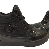 Женские Демисезонные ботинки сникерсы