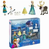 Набор Анна день рождения Disney frozen fever small doll Birthday party set