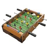 Настольный футбол на штангах деревянный