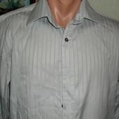 Мужская рубашка фирменная Riley  ворот 40см