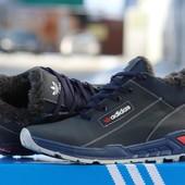 Кроссовки Зимние Adidas , кожа