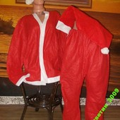 Маскарадный костюм Санты + 2 подарка