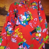 Маскарадная блуза 50-52 размер хлопок
