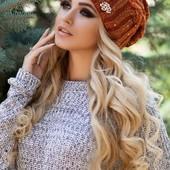 Новая шерсятная шапочка на флисе
