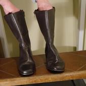 Чоботи шкіряні розмір 38 стелька 25 см Shoe Тailor