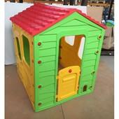 Детский домик Meadow Cottage 2+ желто-зеленый