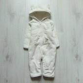 Плюшевый демисезонный комбинезон для маленькой модницы или модника. Vi Foraldrar. Размер 3-6 месяцев