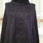 Теплющий свитер-пончо от feeling