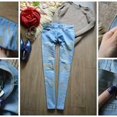 Шикарные джинсы с золотыми брызгами Cheap Monday,р-р М