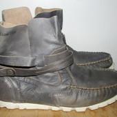 деми ботинки кожа 25.5 см