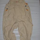 комбинезон-штаны на х.б подкладке на 2-3 года