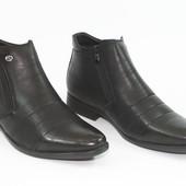 Зимние мужские классические ботинки