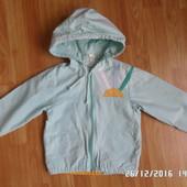 натуральна курточка ветрівка 110