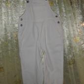 вельветовый комбинезон-штаны на 4-5 лет