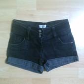 Фирменные джинсовые шорты 9-10 лет
