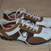 AM fashion туфли ботинки кожаные 41р. Оригинал кроссовки