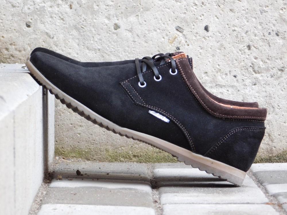 Туфли clarks, р. 40-45, две модели, син, черн, код gavk-10047 фото №7
