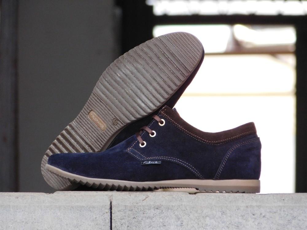 Туфли clarks, р. 40-45, две модели, син, черн, код gavk-10047 фото №8