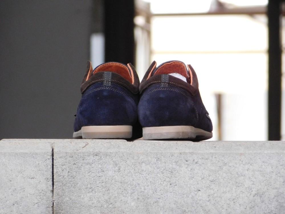 Туфли clarks, р. 40-45, две модели, син, черн, код gavk-10047 фото №3