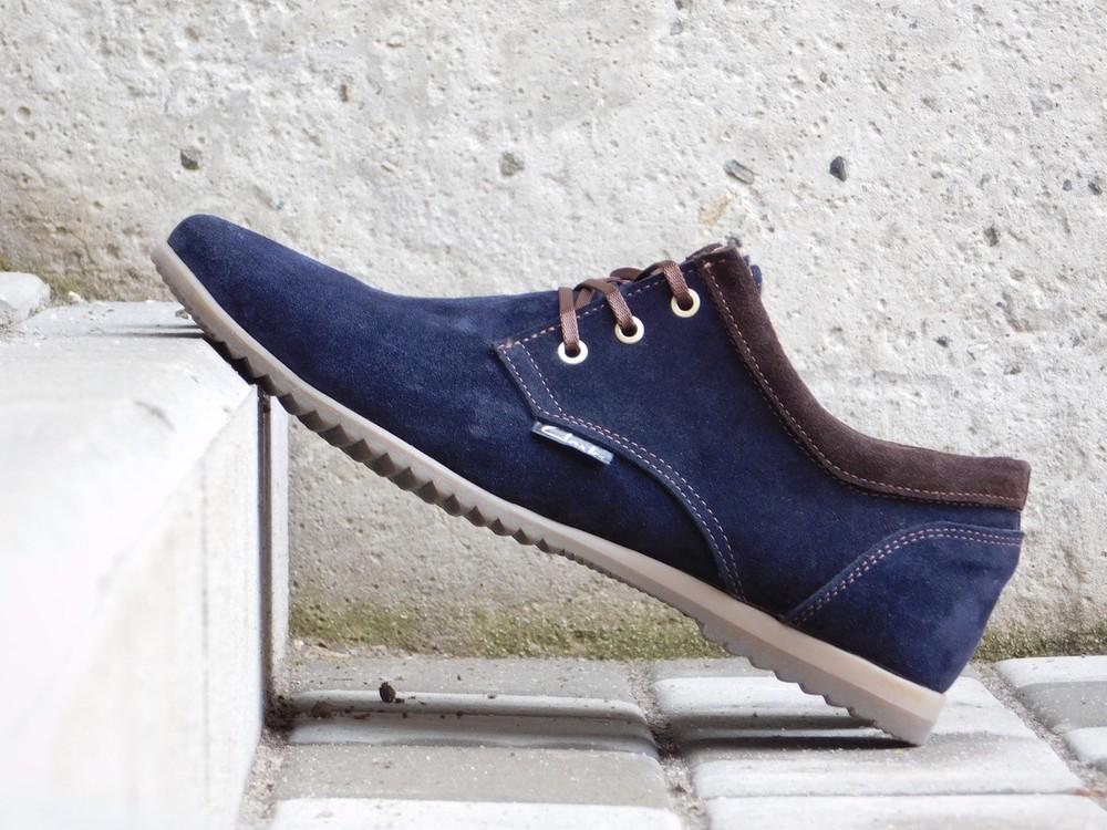 Туфли clarks, р. 40-45, две модели, син, черн, код gavk-10047 фото №4