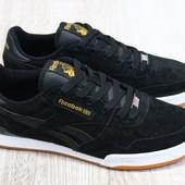 мужские натуральные замшевые кроссовки под бренд
