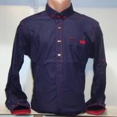 Мужская рубашка с длинным рукавом Punto, Италия. Разные цвета