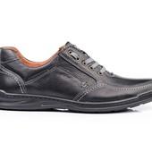 Туфли Мужские Кожаные (002ч)