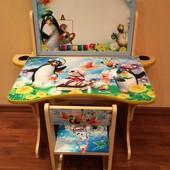 Детская парта (столик) и стульчик
