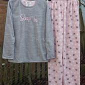 Женская флисовая пижама. Размеры XS- L . Primark