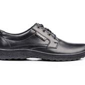 Туфли Мужские Кожаные (057ч)