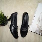 (38р.)Marco Tozzi! Германия! Кожа! Красивые туфли в классическом стиле