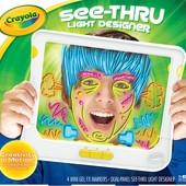 Интерактивная рамка для творчества Crayola, флуорисцентные маркеры