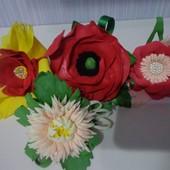 Заколки резинки Цветочек