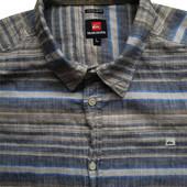 Мужская рубашка безрукавка в полоску Quiksilver L M