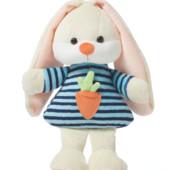 Зайчик ларі, заец лори, заєць тм левеня мягкие игрушки