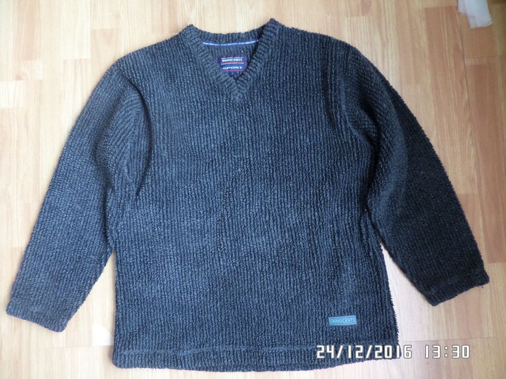 Innocenti L-XL теплий чоловічий светр фото №1
