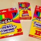 Cra-Z-Art маркеры смываемые водой. карандаши и мелки. сша. Оригинал