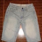 Классные джинсовые шорты мальчику от  Denim Co, p.7-8  лет