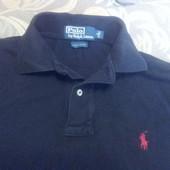 Рубашка поло с длинным рукавом р-р S (46-48) оригинал Polo Ralph Lauren в отличном состоянии