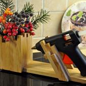 Подставка под клеевой пистолет ручной работы