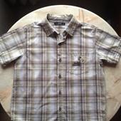 Рубашка на мальчика фирмы George размер 140-146 возраст 10-11 лет