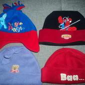 шапочки от 1 до 4 лет