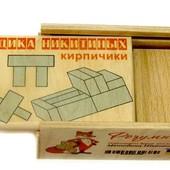 Деревянная игрушка по методике Никитиных Кирпичики, Розумний Лис