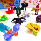 Как приручить дракона Макдональдс. Коллекция из 11 редких игрушек